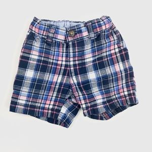 Carters baby checkered shorts